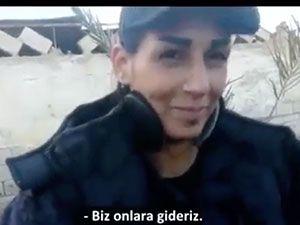 Palmira'yı IŞİD'den kurtaran kadın savaşçılar konuştu!