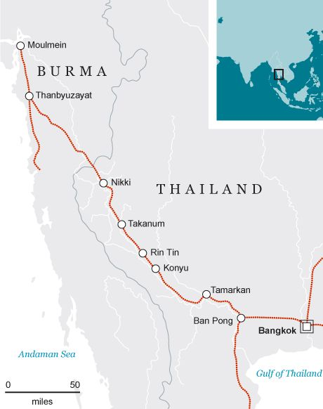 Burma Railway: British POW breaks silence over horrors - Telegraph