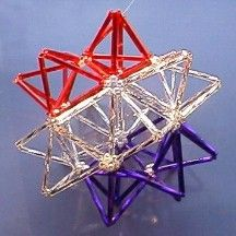 Star Ornament Pattern by Chris Prussing at Bead-Patterns.com