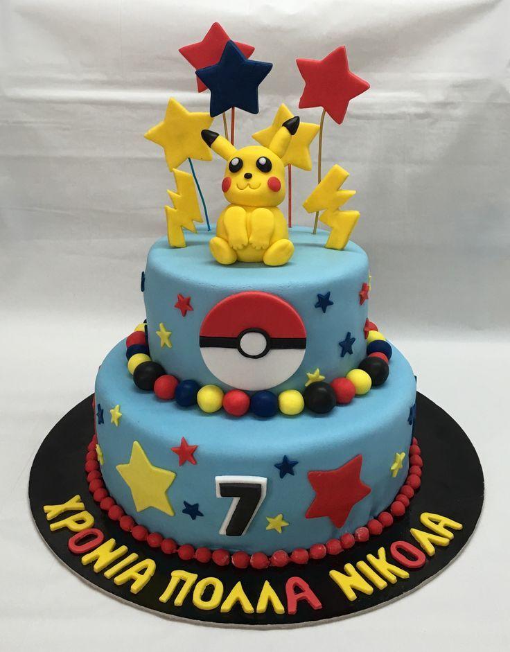 17 Best Ideas About Pokemon Cakes On Pinterest Pokemon