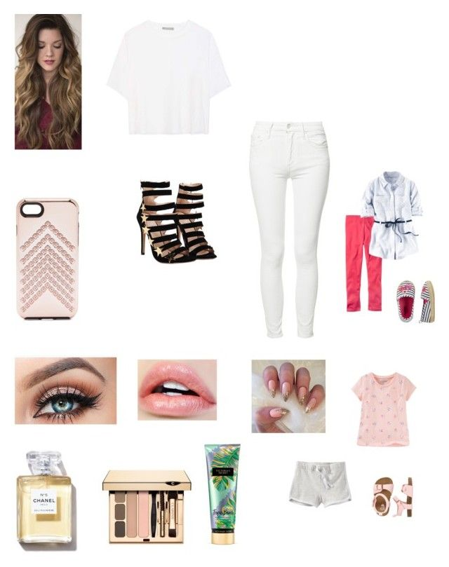 """""""Washing the cars with the girls"""" by bellzellz ❤ liked on Polyvore featuring Vince, Mother, Rebecca Minkoff and Victoria's Secret"""