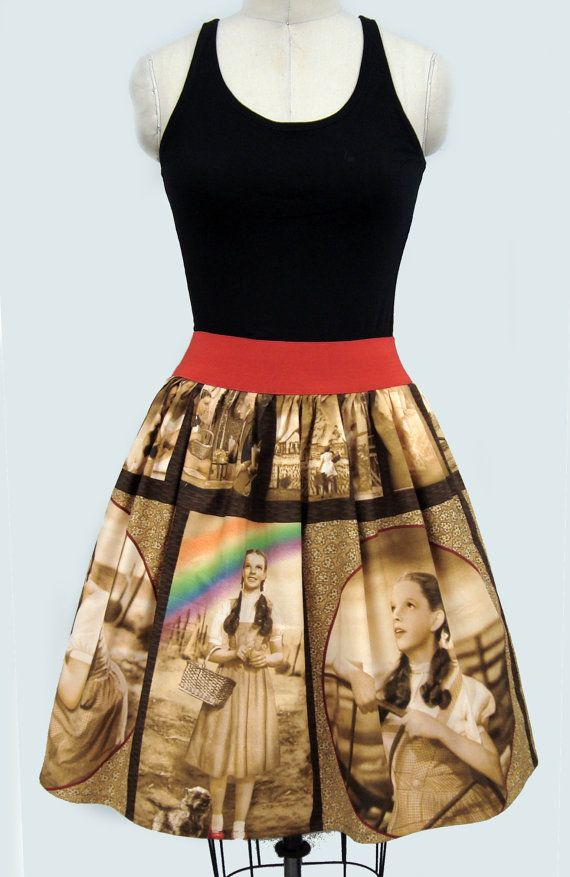 Wizard of Oz 1950s Inspired Dress by GoChaseRabbits on Etsy, $59.99 want!!!!!!!