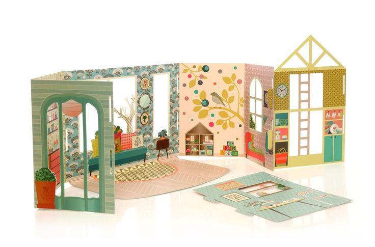 maison en carton toys pinterest. Black Bedroom Furniture Sets. Home Design Ideas