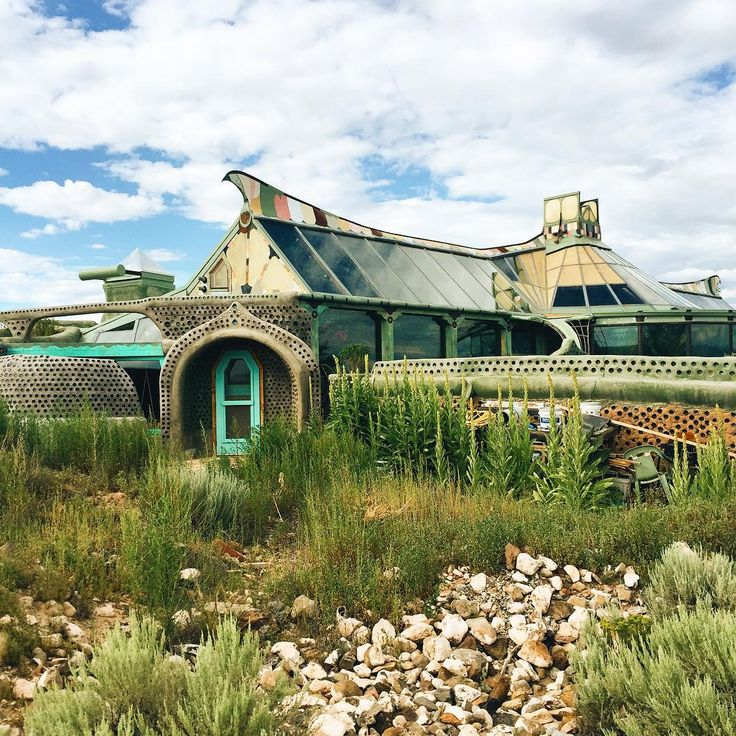 From the Road: Phoenix Earthship: Taos, New Mexico |  by @sethjputnam
