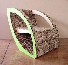 Sweet cardboard furniture design