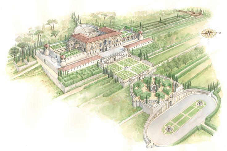 Villa Madama Rome Rafael