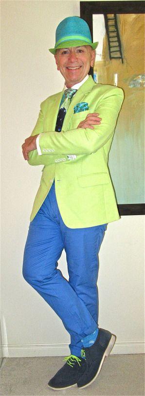 Lime green linen & cotton blend blazer, Steven Land shirt, Luciano Soprani tie, Club Monaco trousers, Stacy Adams suede brogues… #StevenLand #LucianoSoprani #ClubMonaco #StacyAdams #menstyle #menswear #menscouture #mensfashion #instafashion #fashion #dandy #dandystyle #hautecouture #sartorial #sprezzatura #style #dapper #dapperstyle #pocketsquare