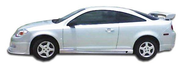 2005-2010 Chevrolet Cobalt 2007-2010 Pontiac G5 2DR Duraflex Racer Side Skirts Rocker Panels - 2 Piece (Clearance)