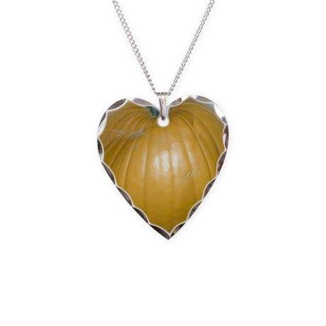 heart-shaped pumpkin Necklace by songdovebooks on CafePress.com