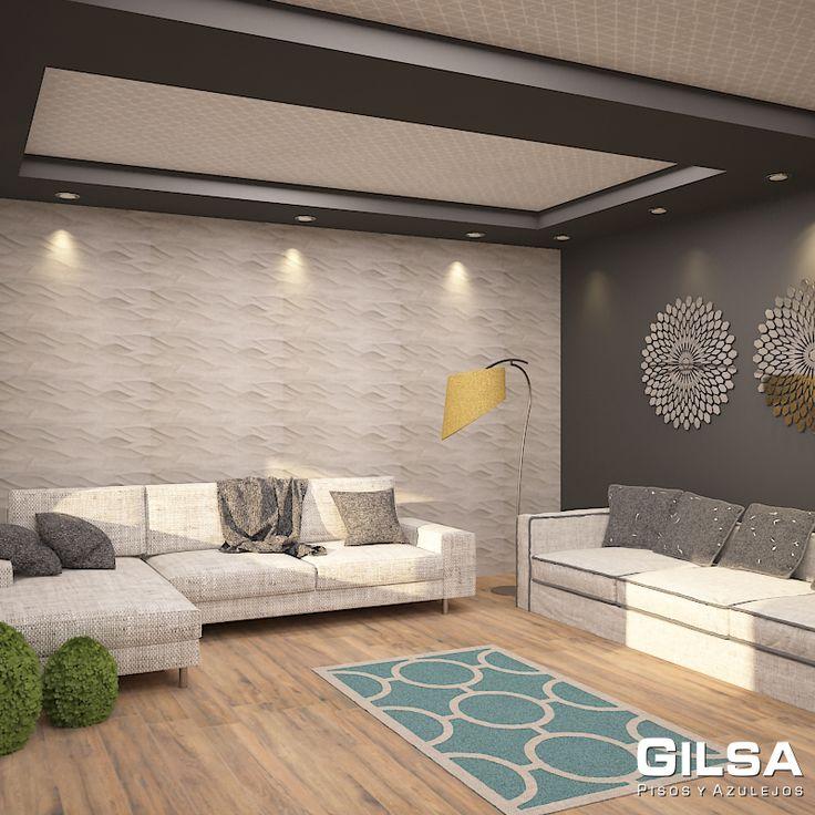 Sala de estilo contempor neo materiales utilizados en for Sala estilo contemporaneo