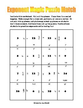 6th grade exponents quiz free exponents worksheetsexponent rules worksheet 2 answer key. Black Bedroom Furniture Sets. Home Design Ideas