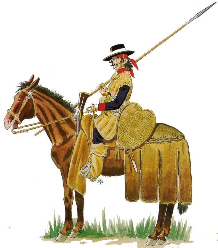 Dragones de Cuera 1790-1800