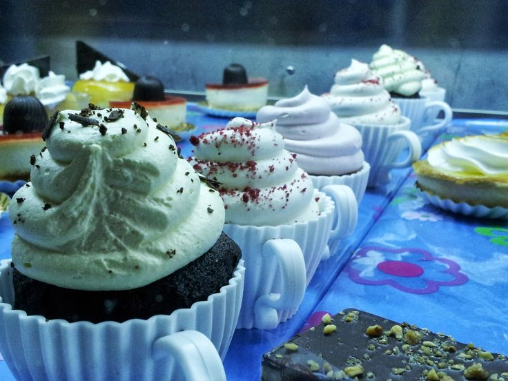 Have you tried our Cupcakes in a Cup? Come to Exception MK!