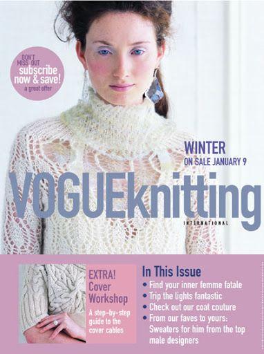 Vogue Knitting Winter 2006 2007 - Poli tricot - Picasa Webalbumok