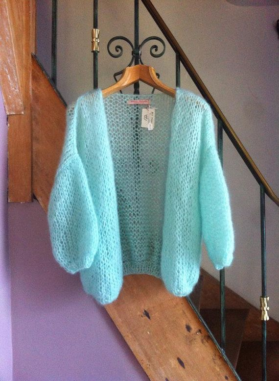 Bernadette Cardigan by ValerieDelville on Etsy