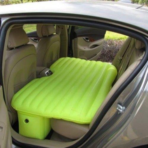 regalos originales cama hinchable para el coche