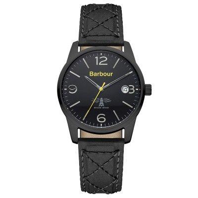 Barbour Black Alanby Watch