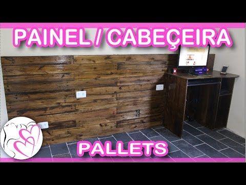 PALLET - Painel/Cabeceira e Mesa de Computador