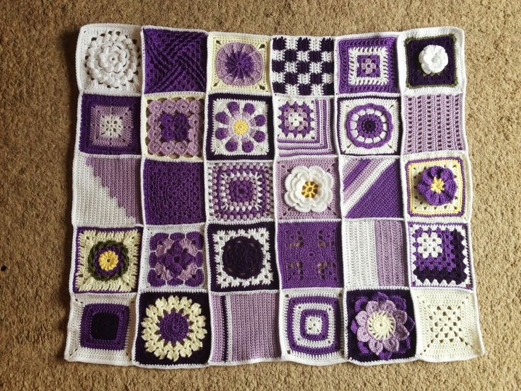 365 Granny Squares Project: August 2013