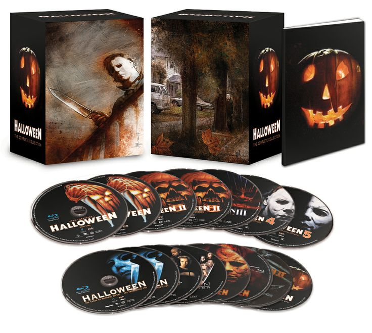 "The art has been revealed for the  ""HALLOWEEN Complete Collection"" Blu-ray box set!"