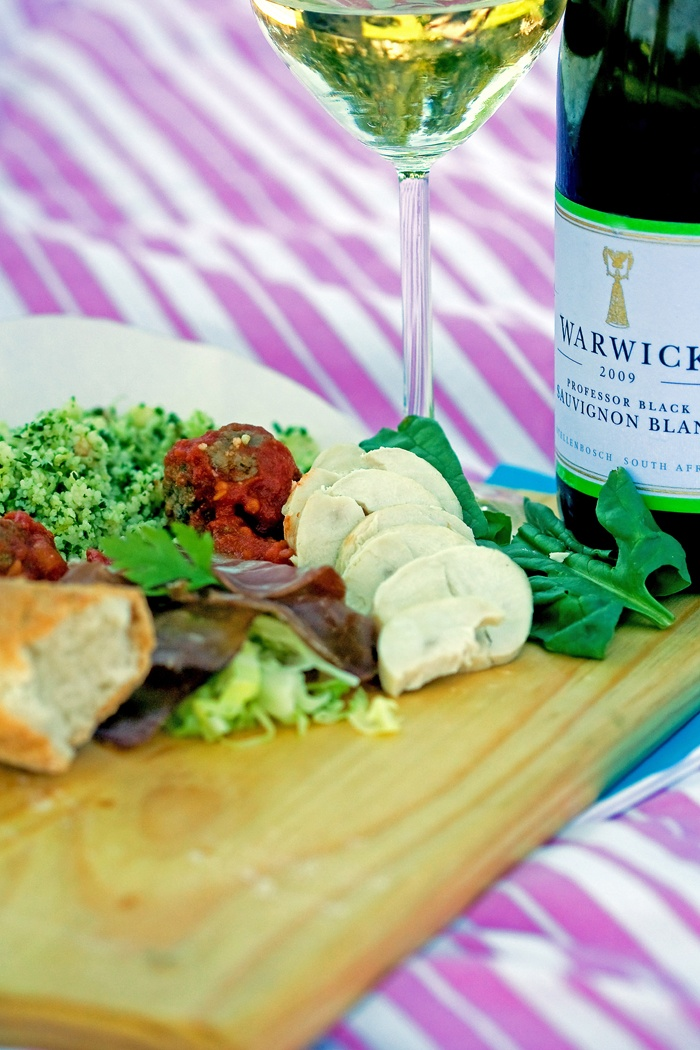 The sweepstakes winner and guest will enjoy a gourmet picnic at Warwick Wine Estate.