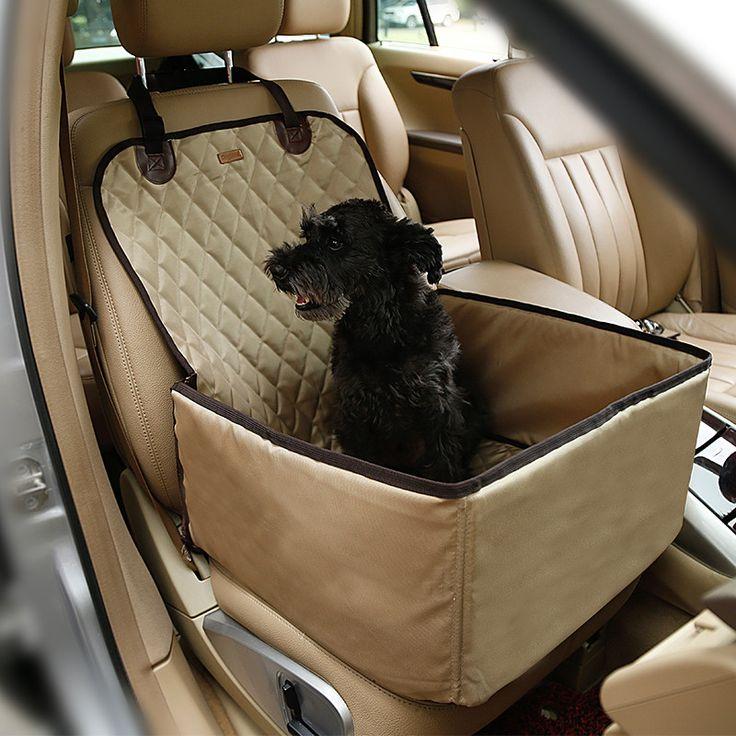 Pet Dog Car Seat Cover Carrier bag Dog Front Seat Cover Waterproof 2 in 1 Deluxe Dog Seat Cover for Cars Pet Bucket Storage Bag