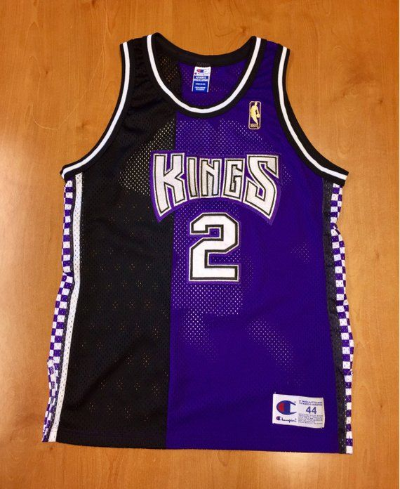 de77fa069c02 Vintage 1996 Mitch Richmond Sacramento Kings Authentic Champion Jersey Size  44 jason williams wayman tisdale bobby hurley jackson nba