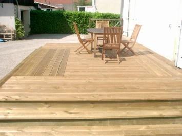 17 meilleures id es propos de passerelles de bois sur pinterest passerelle en palettes de. Black Bedroom Furniture Sets. Home Design Ideas