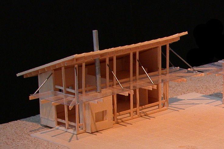 Modern Style House Plan - 1 Beds 1 Baths 727 Sq/Ft Plan #479-12 Upper Floor Plan - Houseplans.com — https://www.pinterest.com/houseplansllc/