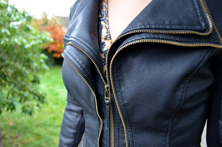 FU Pulp Leather Look Jacket £110