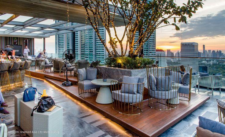 Sky on 20 - Bangkok's Cheapest Rooftop Bar, Thailand