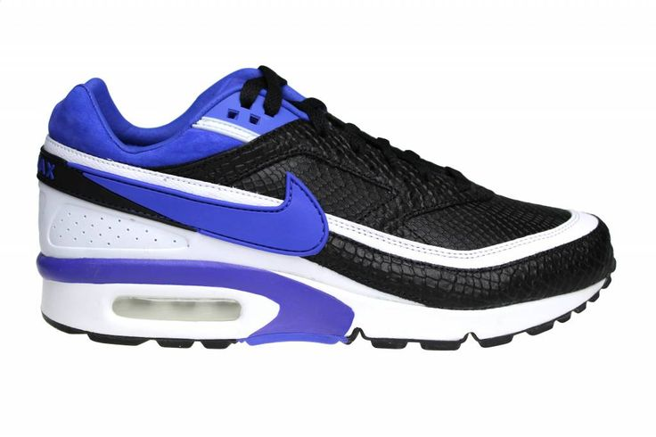 The first color combination of the Nike Air Classic (black with purple and  white) is back, but with a snake print layer.