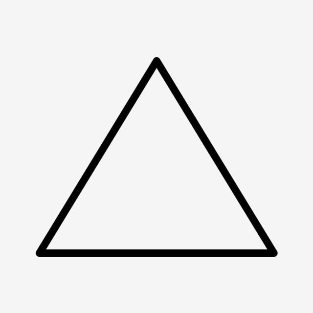 Triangle Line Black Icon Line Icons Black Icons Triangle Icons Png And Vector With Transparent Background For Free Download Triangle Black Banner Line Icon
