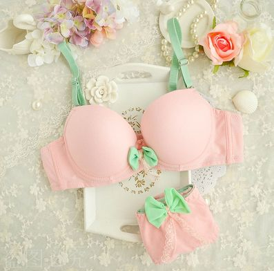 "Use this coupon code ""bajramoviclejla8"" to get all 10% off!  Cute kawaii candy color lingerie"