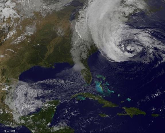 Megastorm Could Wreak Havoc Across Eastern U.S.