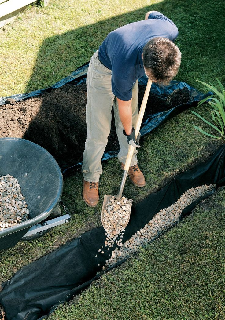 31 Best French Drain Images On Pinterest Backyard Ideas