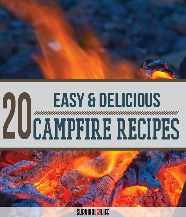 Campfire Cooking 4 Easy Camping Recipes: 84 Best Images About Camping On Pinterest