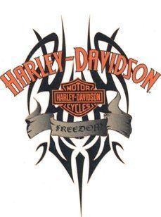 Harley Davidson Tattoo Idea