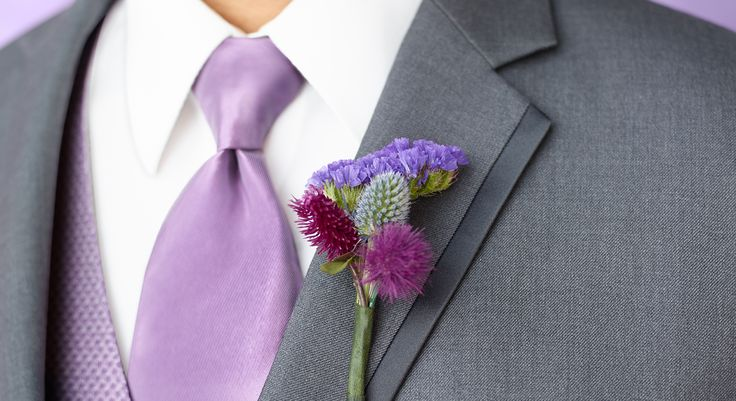 Jewel-toned vests and color-washed accessories create a quietly elegant palette. #weddings #menswearhouse #tuxedos
