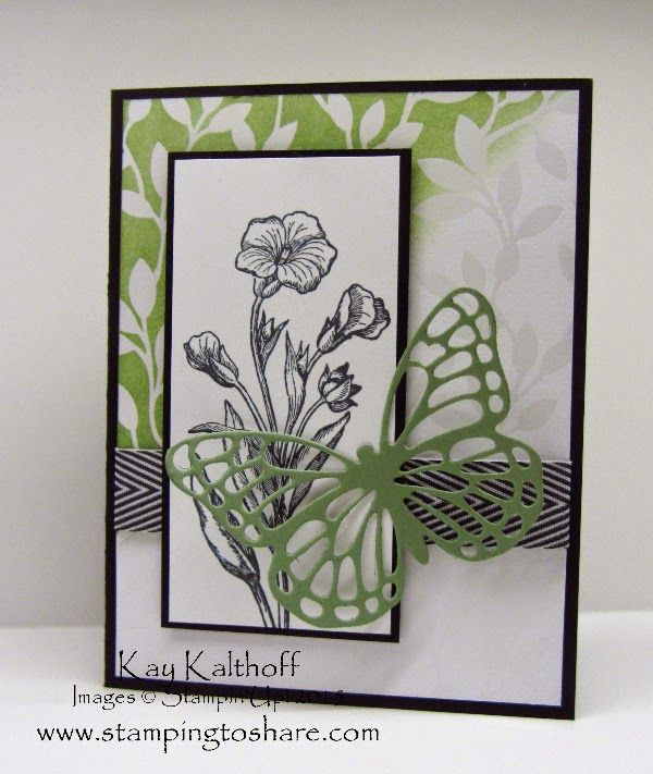 Butterfly Basics Bundle with Irresistibly Yours Specialty Designer Series Paper - Includes How To Video!, Stamping to Share, Kay Kalthoff, Stampin' Up!