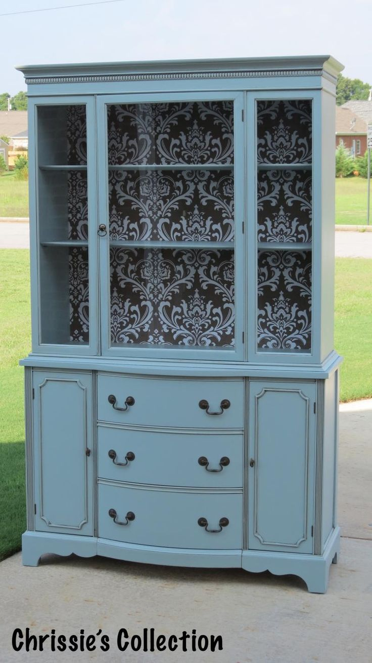 Chrissie's Collection - Paint Portfolio ~ China Cabinets