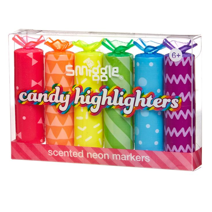Image for Candy Highlighter X6 from Smiggle NEED