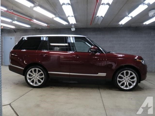 2016 Land Rover Range Rover 3.0L V6 Supercharged HSE Price On Request