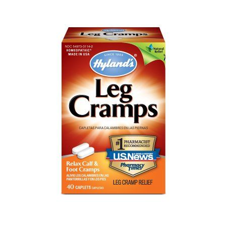 Hyland's Leg Cramp Tablets, Natural Calf, Leg and Foot Cramp Relief, 40 Count - 2