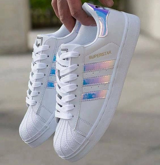 Holographic Adidas #sportsandalswomen