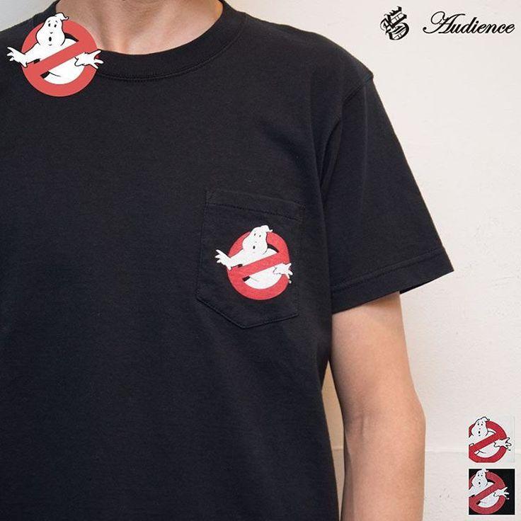 """2016年5月19日【 Web Store 更新 】  Ghost Busters """"Michael C. Gross Logo-I"""" 7.1oz米綿丸胴オールドプリントクルーネックポケットT 【一部予約・6月27日入荷】 / Audience [ http://www.aud-inc.com/product/2403 ]  #プリントT #高円寺 #Tシャツ #カットソー #米綿 #7.1oz #カットソー #丸胴 #クルーネック #ポケT #ゴーストバスターズ #ghostbusters #メンズ #mens #レディース #ladys #東京 #style #fashion #NowAvailable #webstore"""