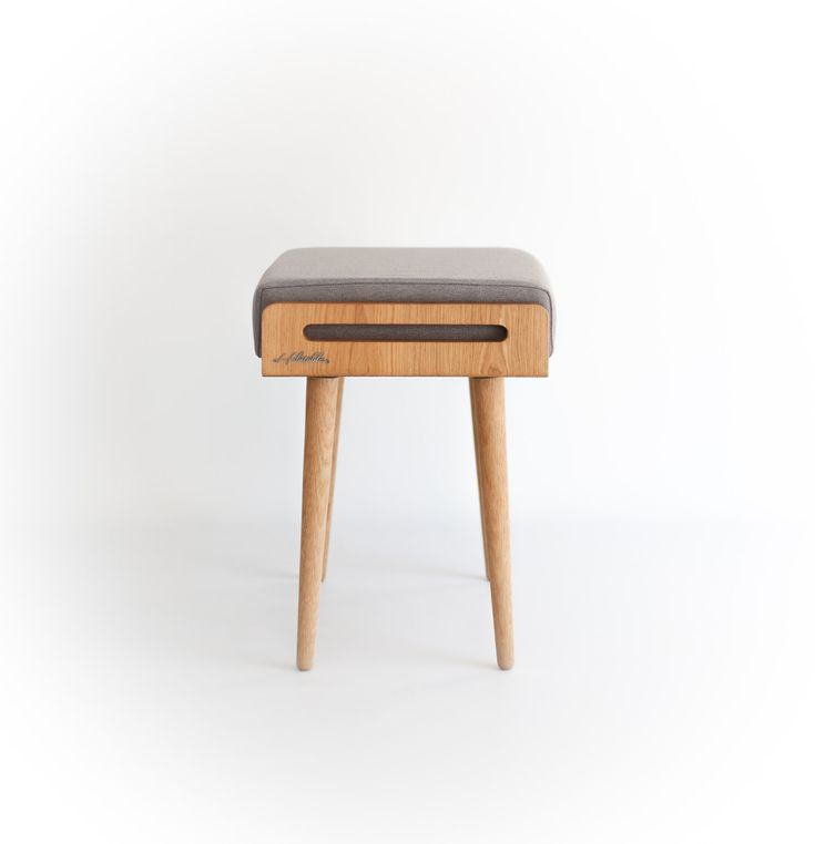 Stool / Seat / stool / Ottoman / bench made of solid by Habitables  sc 1 st  Pinterest & 150 best Bench / stool / tray /ottoman images on Pinterest ... islam-shia.org