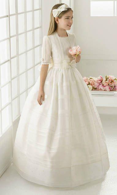 Avance de tendencias: ¿Qué vestidos de Comunión se llevarán esta primavera?