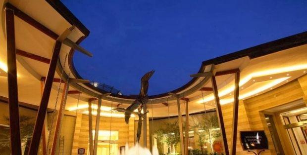 Bird sculpture at the Silverstar Casino entrance near Johannesburg, Gauteng. #visitgauteng http://www.gauteng.net/attractions/entry/silverstar_casino/