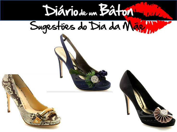 Pumps Luis Onofre na Stylix!!! Adoro